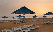Ramada Resort by Wyndham Dead Sea - Beach Sun Set