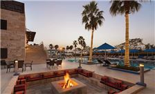 Ramada Resort by Wyndham Dead Sea Services - Swimming Pool Sun Set