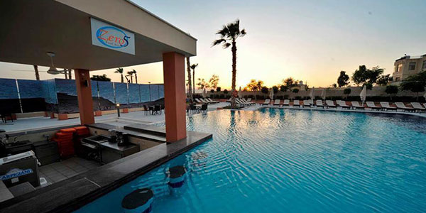 Zero Five Pool Bar at Ramada Resort by Wyndham Dead Sea Jordan