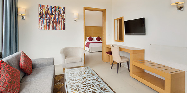 Premium Suite at Ramada Resort Dead Sea